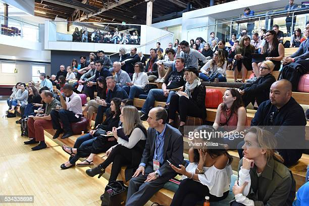 The Tetris Test Workshop at Fast Company Creativity CounterConference 2016 on May 24 2016 in Los Angeles California