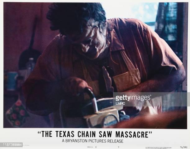 The Texas Chainsaw Massacre lobbycard Gunnar Hansen 1974