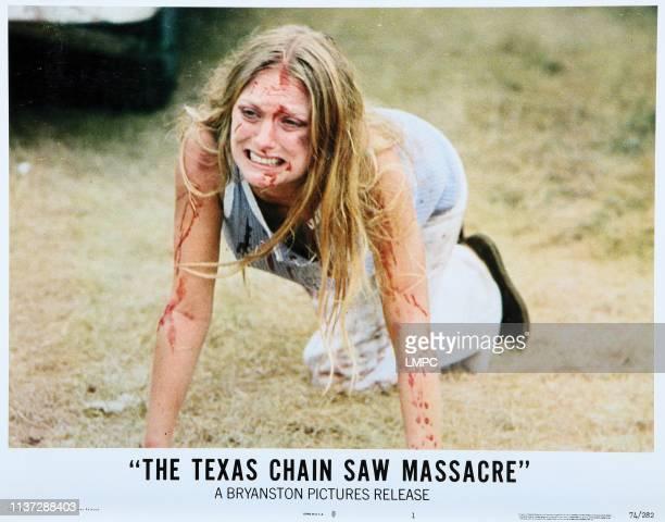 The Texas Chainsaw Massacre lobbycard Marilyn Burns 1974