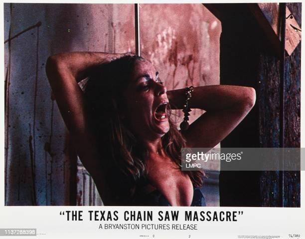 The Texas Chainsaw Massacre lobbycard Teri McMinn 1974