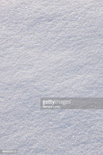 The texture of new fallen snow