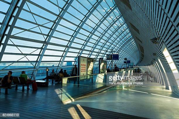 The TGV Station Building,Avignon,Vaucluse,Provence, France