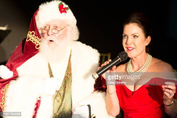 The Thalians President Kira Reed Lorsch and Santa Claus Chairs Holiday Party At Bel Air Country Club on December 1 2018 in Los Angeles California