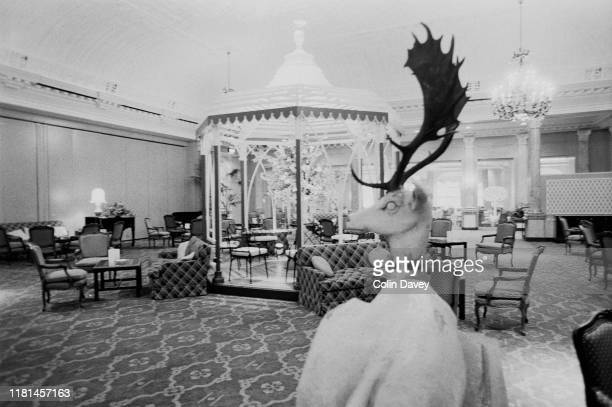 The Thames Foyer at The Savoy Hotel in London UK 3rd November 1980