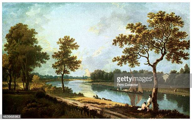 The Thames Twickenham c1762 From the National Gallery London
