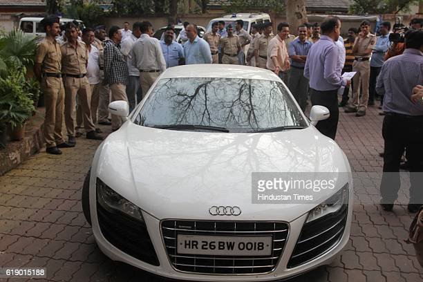 The Thane Police have seized an Audi R8 car from the alleged kingpin of the fake Thane Call Centre racket Ahmedabadbased Sagar Thakkar also known as...