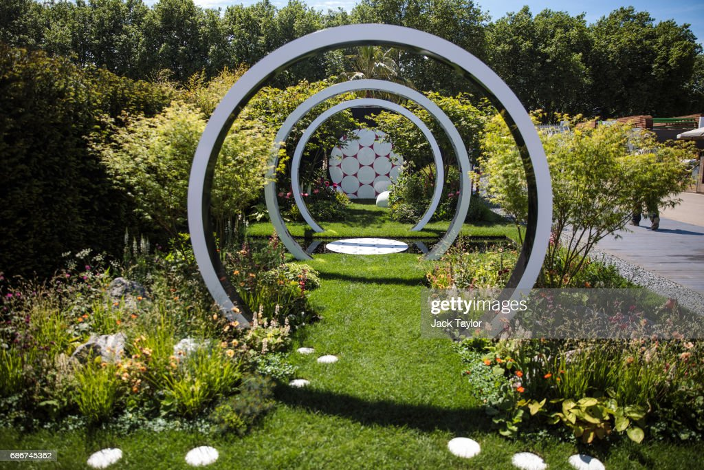 The 'The Breast Cancer Now Garden: Through The Microscope' on display at the Chelsea Flower Show on May 22, 2017 in London, England. The prestigious Chelsea Flower Show, held annually since 1913 in the Royal Hospital Chelsea grounds, is open to the public from the 23rd to the 27th of May, 2017.