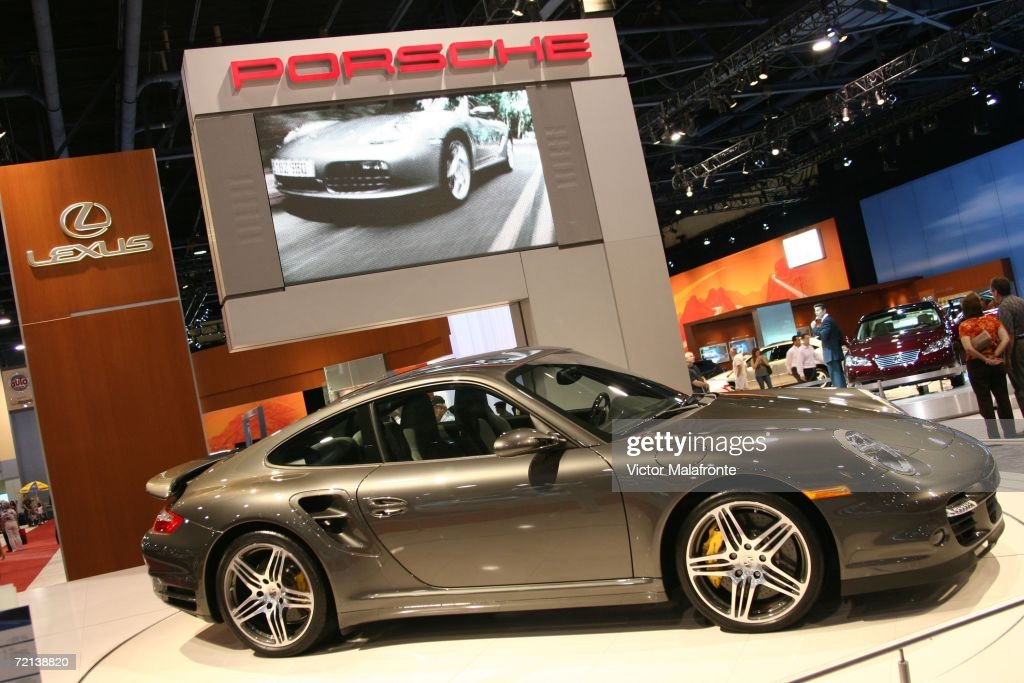 The Porsche 911 Turbo Coupe Is Displayed At 36th Annual South Florida International Auto