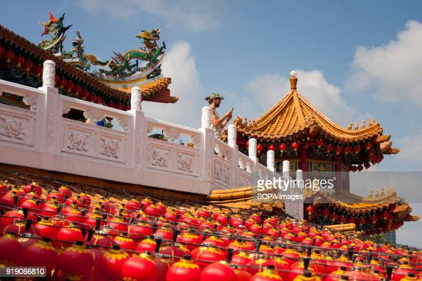The Thean Hou Temple on the first day of Chinese New Year Chinese New Year is the first day of the New Year in the Chinese calendar which differs...