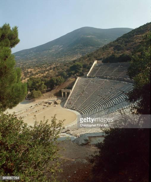 The theater of Epidaurus Greek Art Epidaurus Greece