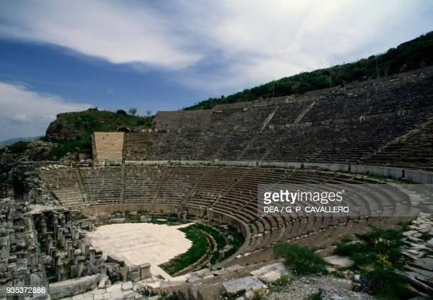 The Theatre ca 200 BC Ephesus Turkey Hellenistic and Roman civilisations 2nd century BC 3rd century AD