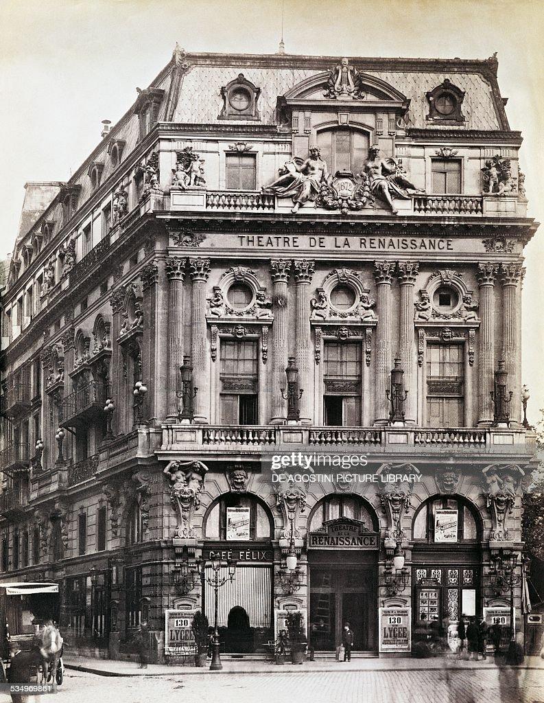 The Theatre de la Renaissance... : News Photo