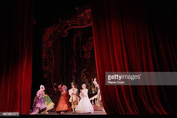 The Theatre of Donetsk stages a sunday morning performance of Cinderella on February 8 2015 in Donetsk, Ukraine. As fierce fighting contunies between...