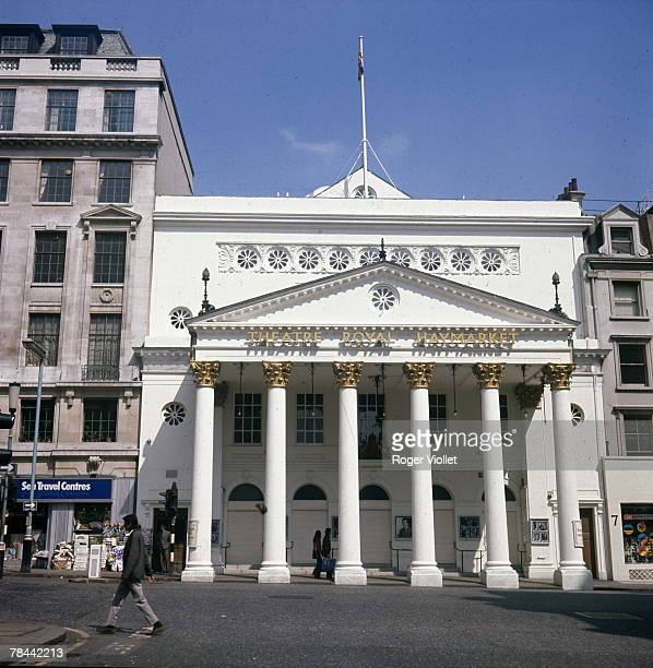 The Theatre Royal Haymarket or Haymarket Theatre London circa 1990 Designed by John Nash and opened in 1821