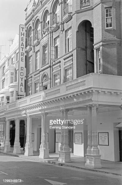 The Theatre Royal in Brighton, UK, September 1966. It is showing the play 'The Rivals' by Richard Brinsley Sheridan, starring Ralph Richardson,...