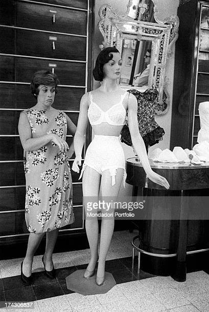 50s lingerie stock photos and pictures getty images