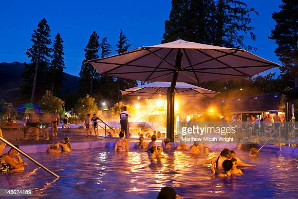 The Thermal Hot Springs are a major attraction here in Hanmer.