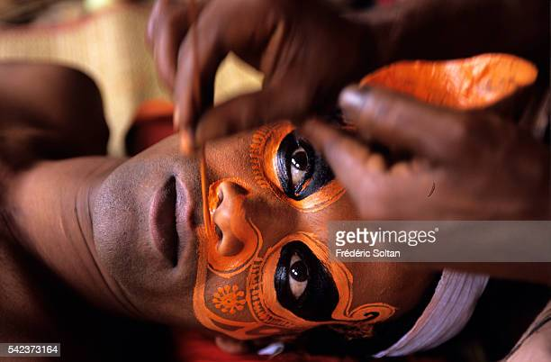 The Theyyam is an invocation and a ritual dance performed in the villages during the dry season Theyyam also refers to the men who practice the rite...