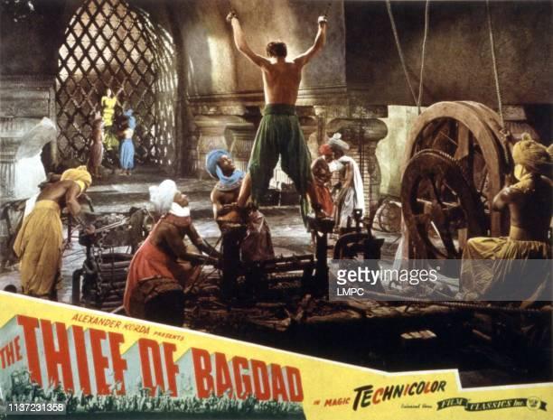 The Thief Of Bagdad, lobbycard, John Justin, 1940.