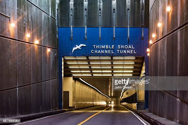 The Thimble Shoal Tunnel on the Chesapeake Bay Bridge