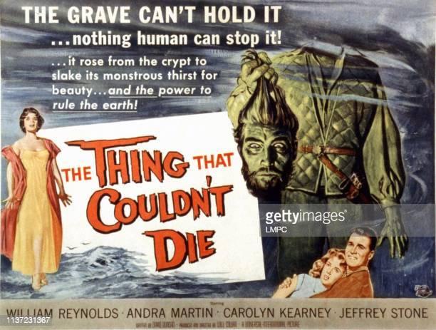 The Thing That Wouldn't Die lobbycard Andra Martin Robin Hughes Carolyn Kearney William Reynolds 1958