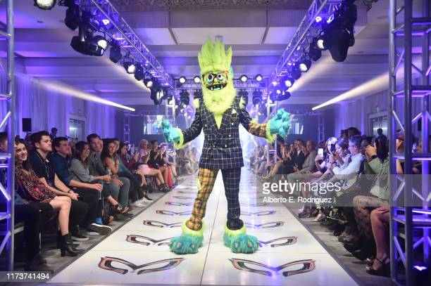 The Thingamajig participates in a runway show for the premiere of Fox's The Masked Singer Season 2 at The Bazaar at the SLS Hotel Beverly Hills on...