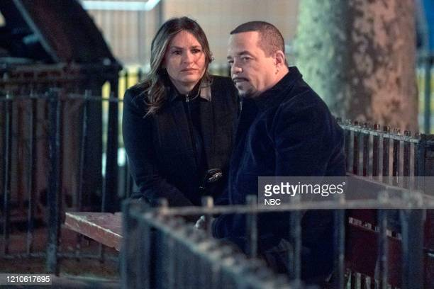 """The Things We Have to Lose"""" Episode 21020 -- Pictured: Mariska Hargitay as Captain Olivia Benson, Ice T as Detective Odafin """"Fin"""" Tutuola --"""