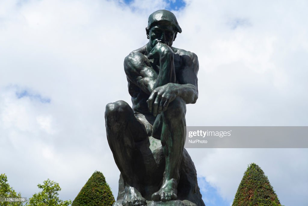 Rodin Museum In Paris : News Photo
