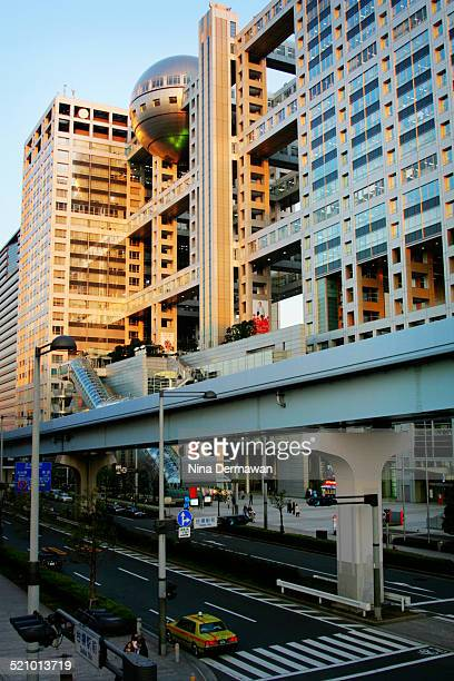 The third and current Fuji TV headquarters in Odaiba