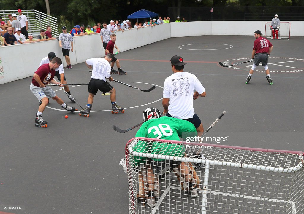 The Third Annual Dot Pot Street Hockey Tournament Takes Place At