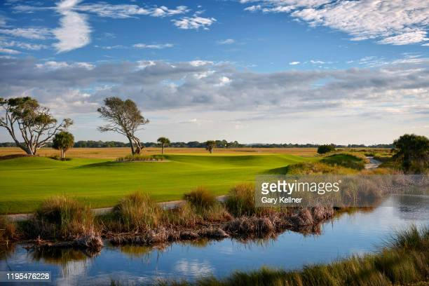 The third hole of the Ocean Course at Kiawah Island Golf Resort, the future site of the 103rd PGA Championship, on November 16 in Kiawah Island,...