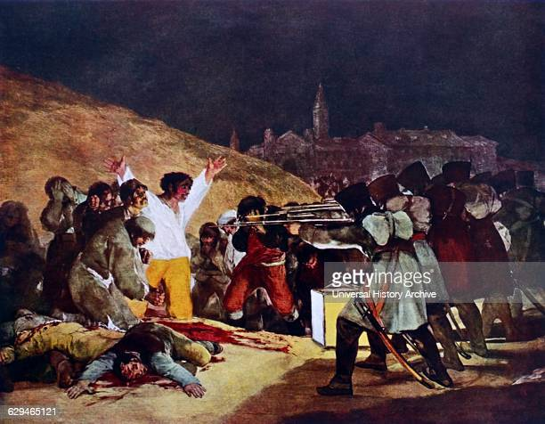 The Third of May 1808 painting completed in 1814 by the Spanish painter Francisco Goya It commemorates the Spanish resistance to Napoleon's armies...