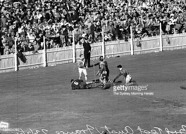 The third Rugby League test between Australia and France at the Sydney Cricket Ground 23 July 1955