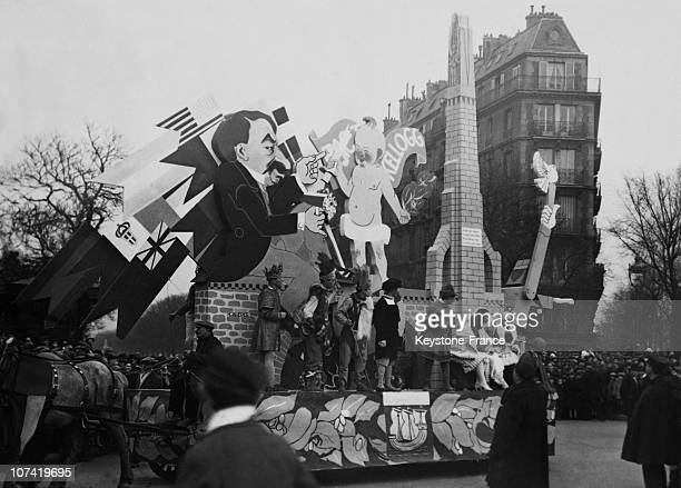 The Third Thursday In Lent Carnival In Paris On 1928