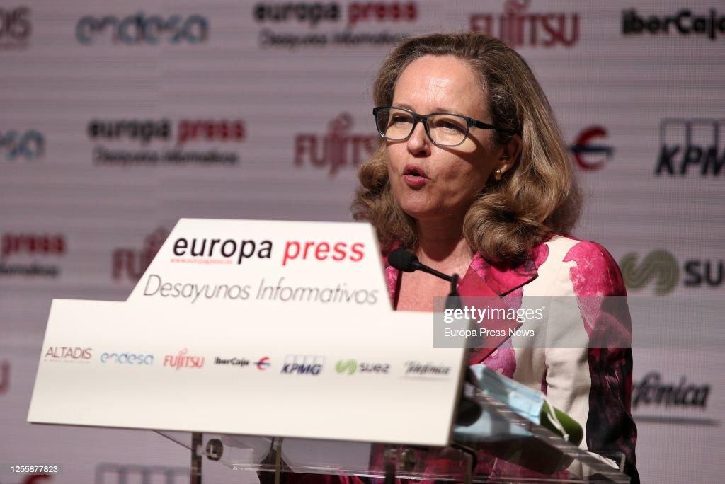 Juan Carlos Campo Protagonizes An Informative Breakfast Of Europa Press : News Photo