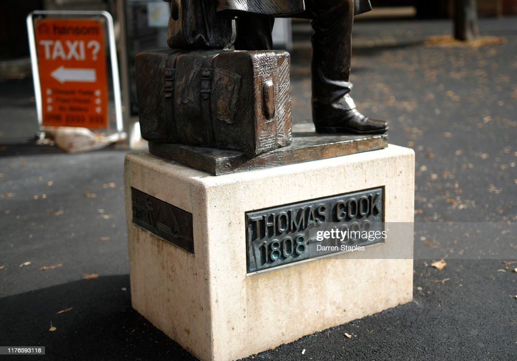 Travel Firm Thomas Cook Ceases Trading, Canceling Flights And Holidays : News Photo