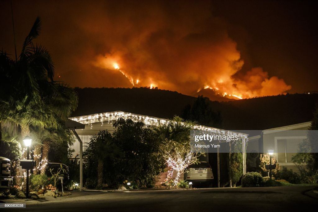Southern California Fires Rage On