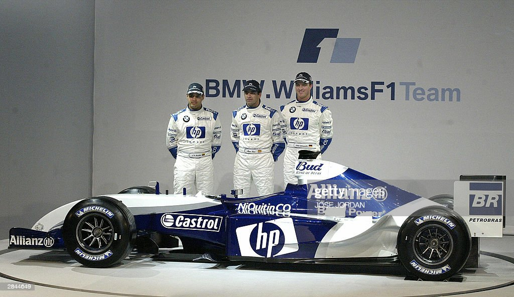 The three BMW Williams drivers Colombian : News Photo