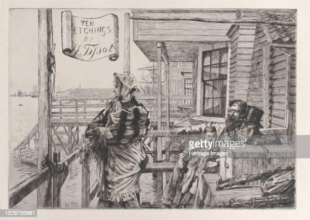 The Three Crows Inn, Gravesend, 1877. Artist James Tissot.