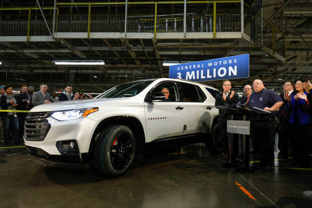 MI: GM Rolls Out Three Millionth Vehicle At Its Lansing Delta Township Assembly Plant