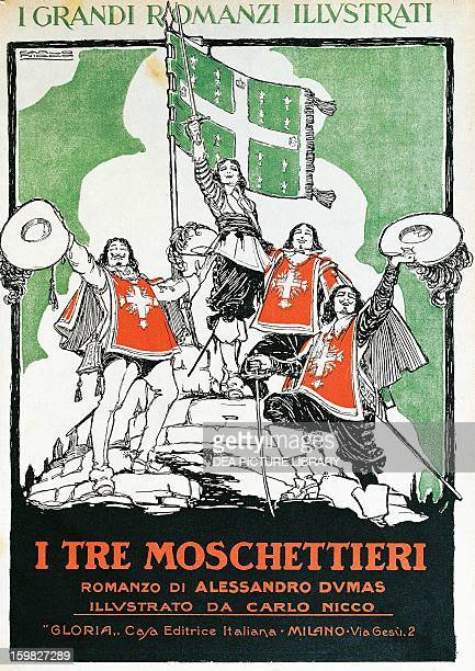 The Three Musketeers the cover of the 1921 Italian edition of the novel by Alexandre Dumas