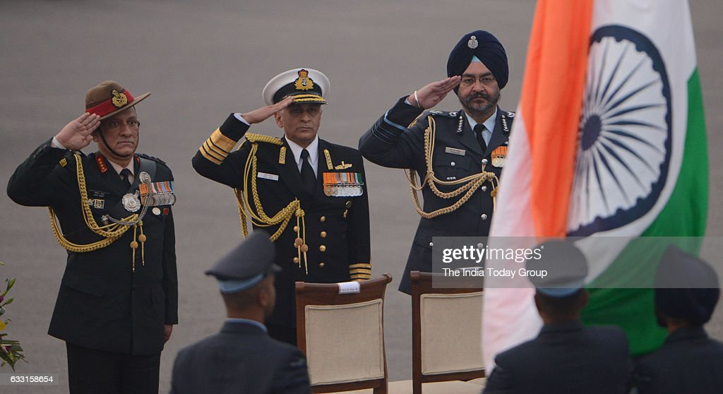 Beating The Retreat 2017 : News Photo
