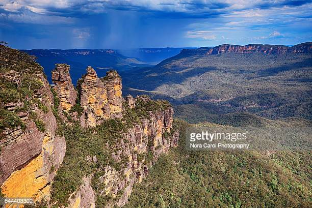 The Three Sisters From Echo Point, Blue Mountains National Park, Australia