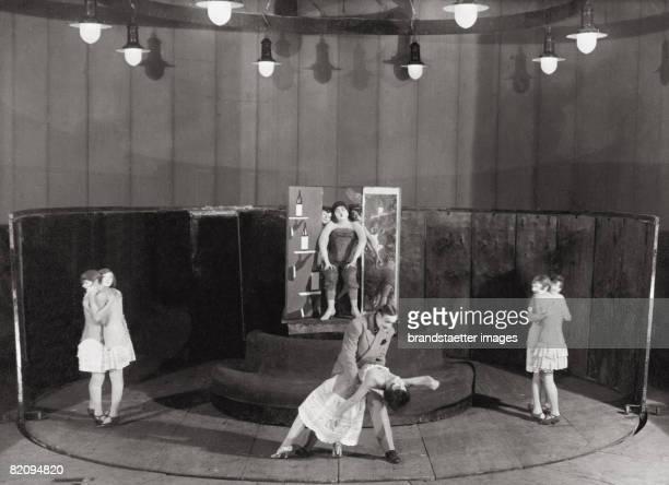 The Threepenny Opera by Bertolt Brecht and Kurt Weill Staatliches Kammertheater Moscow Photograph by SojusFoto 1930 [Die Dreigroschenoper von Bertolt...