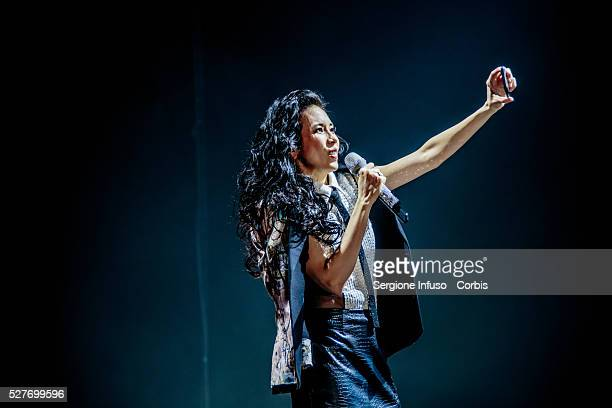 The threetime Golden Melody Awardwinning Hong Kong actress and singersongwriter Karen Mok performs live at LinearCiak in Milan for the first time...