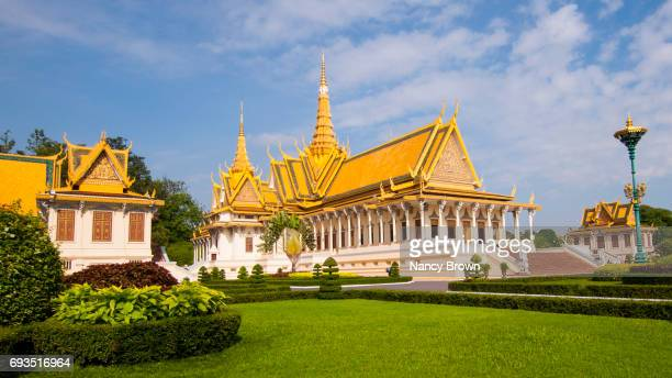 The Throne Hall in The Royal Palace in Phnom Penh in Cambodia.