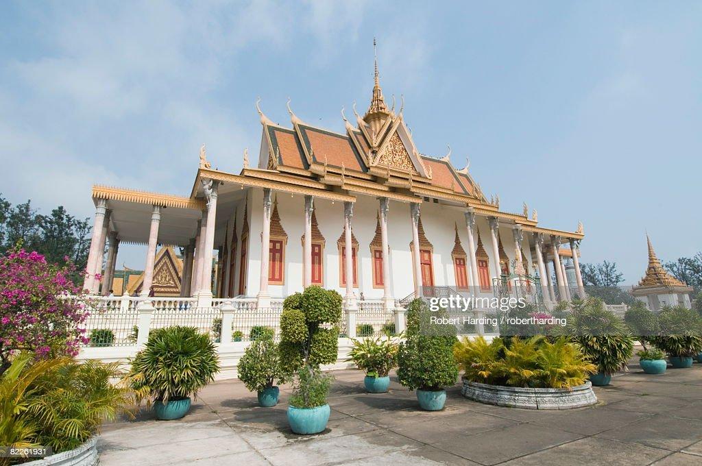 The Throne Hall, The Royal Palace, Phnom Penh, Cambodia, Indochina, Southeast Asia, Asia : Stock Photo