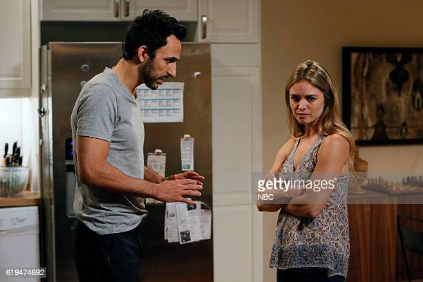 THE BLACKLIST 'The Thrushes #53' Episode 406 Pictured Amir Arison as Aram Mojtabai Annie Heise as Elise