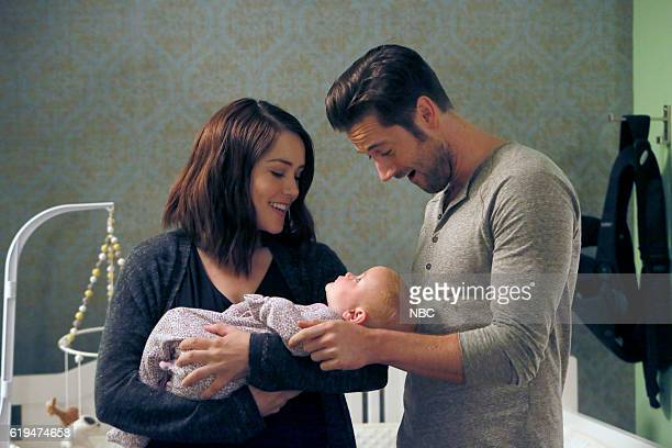 THE BLACKLIST 'The Thrushes #53' Episode 406 Pictured Megan Boone as Elizabeth Keen Ryan Eggold as Tom Keen