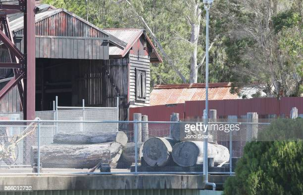 The Thunder River Rapids ride remains closed at Dreamworld on October 25 2017 in Gold Coast Australia Four people were killed following an accident...